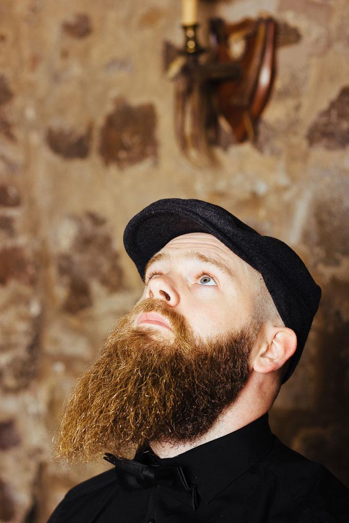John Jackson of Braw Beard Oils by Colin Usher