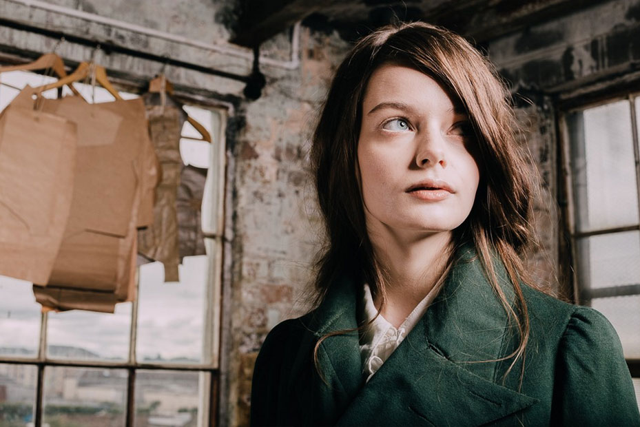 Model Rachel Flett for Stewart Christie & Co. by Colin Usher