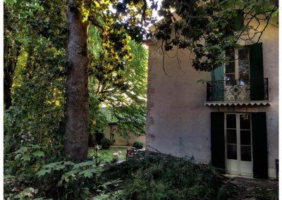 Balcony and Garden