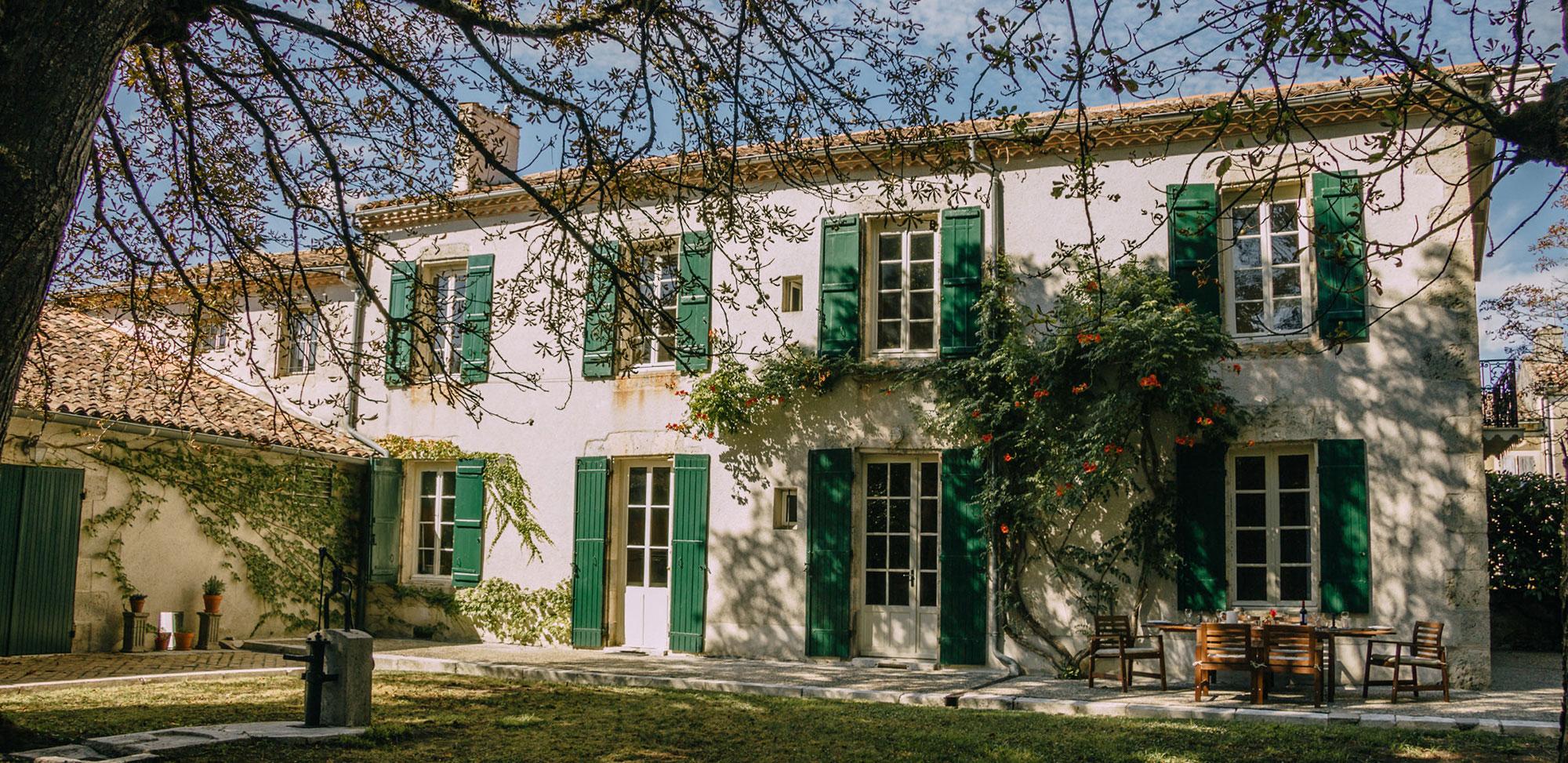 Garden at Studio Faire, South West France