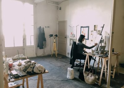 Studio Faire, The 'Garage' Studio (Brittany)